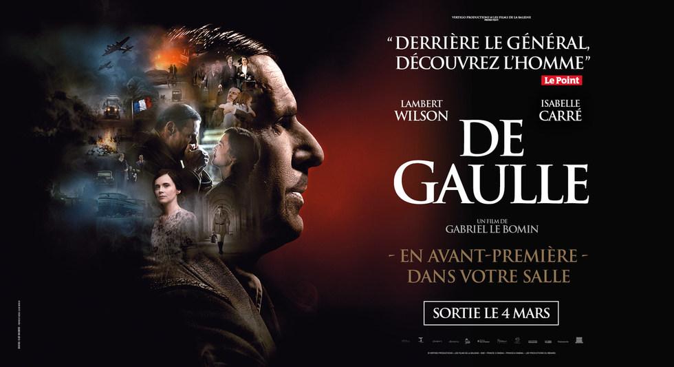 DE GAULLE - DIMANCHE le 1er MARS à 18h00